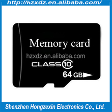 Wholesale 64gb micro TF sd card hot selling sd card 64gb class 10 bulk high speed for tablet pc