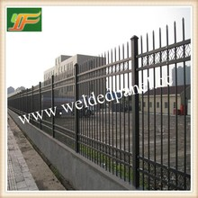 Outdoor used Hot sell high quality best price Canada standard iron temporary fence garden fence house fence
