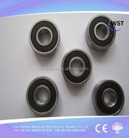 mini type top quality deep groove ball bearing 6009rs stainless steel material used for machinery parts