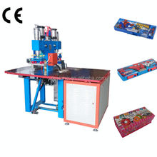 China Welder Supplier/High Frequency Welding PVC Stationery Machinery/Writting/Pencil Case Box