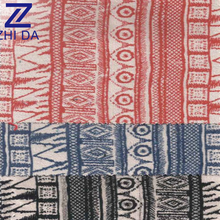 waterproof custom lightweight striped 10oz canvas printed fabric national style african wax prints fabric