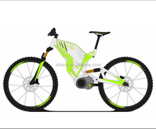 Alloy 6061 full suspension middle motor mountain electric bike 27.5x3.0