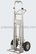 3 in 1 aluminum hand trolley Aluminum Convertible 3 in 1 Hand Truck