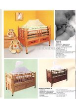2015 New wood baby cot, popular child bed and hot sale wooden bed
