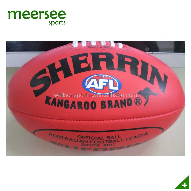 Soft PVC foamed AFL football