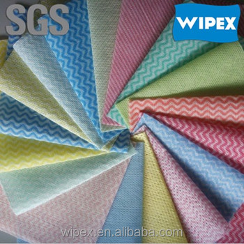 trade assurance nonwoven cleaning spunlace fabric