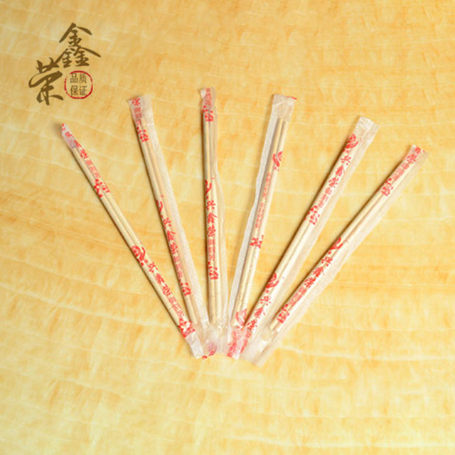 2018 Chinese Factory Made Cheap Disposable Wooden Chopsticks