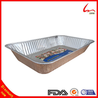 Food Packaging Disposable Catering Aluminum Foil Tray/Aluminium Foil Container Manufacturer
