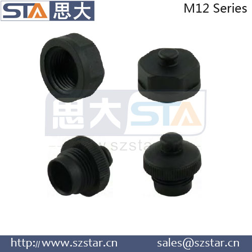 high quality M12 dust caps for M12 connector