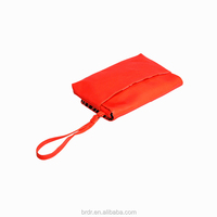 2015 Latest Shiny Orange PVC Girls Clutch Bag