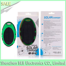 Buy 5000mah waterproof solar charger for mobile phone from best supplier