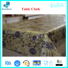 hot sale custom plastic table cover
