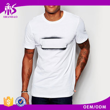 2016 Guangzhou Shandao OEM Custom Lastest O-Neck Short Sleeve 160g 98% Cotton 2% Polyester Blank T-shirts Japanese Cotton