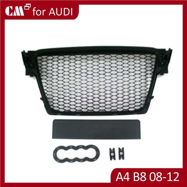 For AUDI A4 B8 2008-2012 front grille