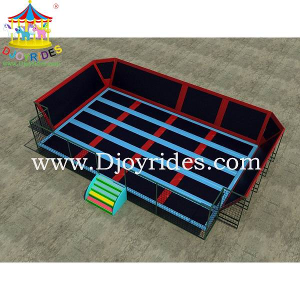 2015 Large hot selling trampoline theme bed for children