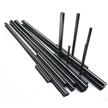 High quality solid ground tungsten carbide rod with double helix hole for end mills