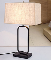 Direct Price Fabric America Style Table Lamp