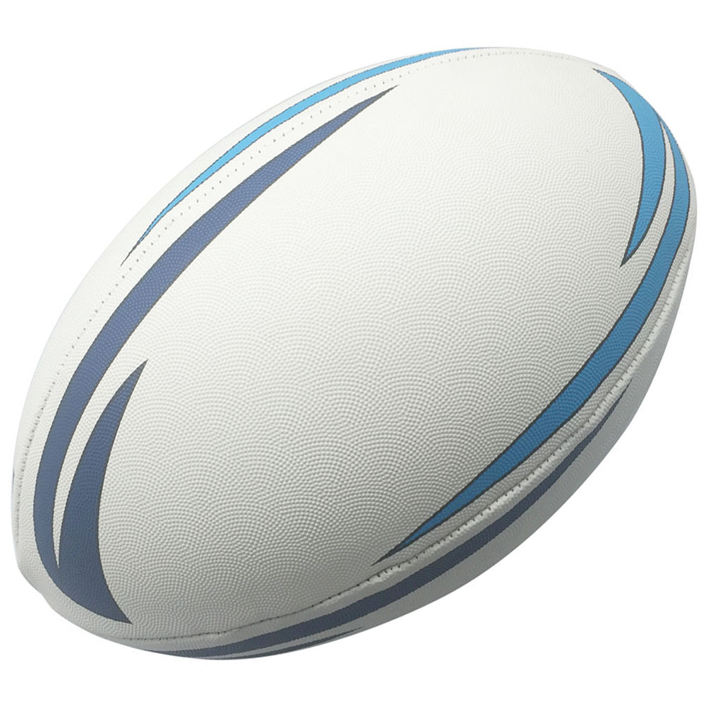 Best Quality Solid Grain Machine Stitched Rubber Leather Rugby <strong>Ball</strong>