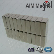 High graded N50 N52 Block Shaped Neodymium Magnets for medical equipment