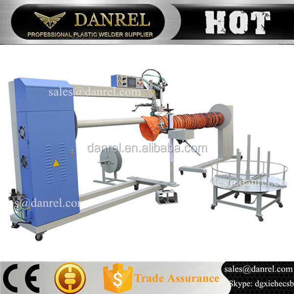 Vinyl Welder Hot Air Seam Sealing Machine For Tubing