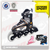 semi-soft full aluminum chasiss two in one adjustable inline cougar inline skate