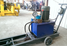 tension machine for pre-stressed concrete electric slab