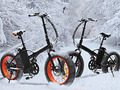 Buy electric snow folding bike in China