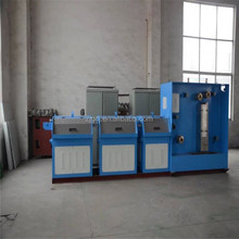 CJ-100-14 heads multi wire /Copper Wire drawing machine with Annealer