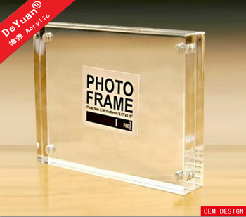 New style transparent acrylic picture digital funia photo frame