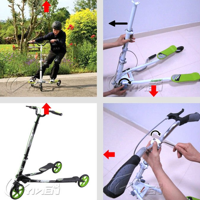 2014 three wheels kick scooter,frog scooter for sale