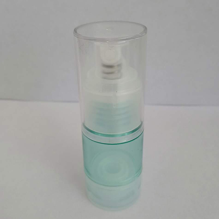 15ml AS plastic bottle with Airless pump for skin care cream cosmetics