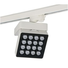 Die Casting Aluminum Square Wall Washer Flood LED Track Light