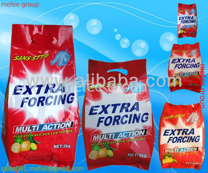extra forcing high quality laundry powder