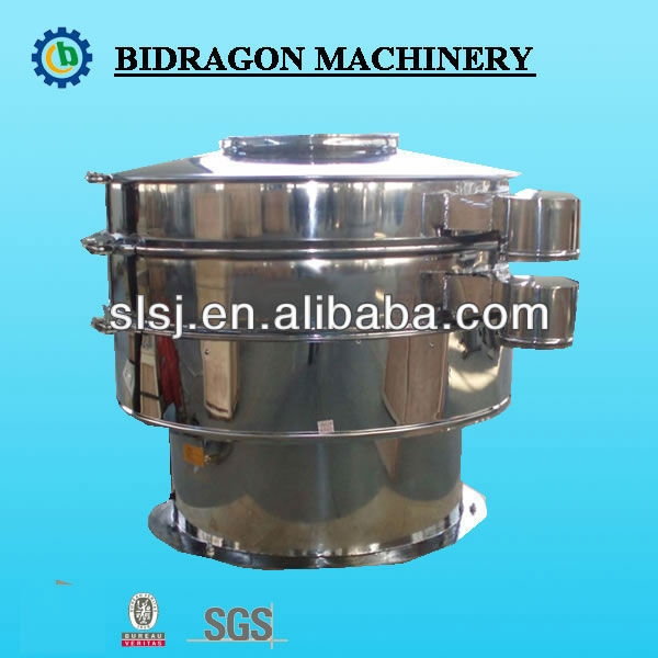 Vibrating sieve with Tyler standard mesh