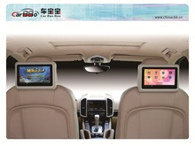 9 inch HD Headrest Entertainment System touch screen car headrest lcd monitor