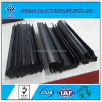 Weather resistance sponge rubber door seal strip