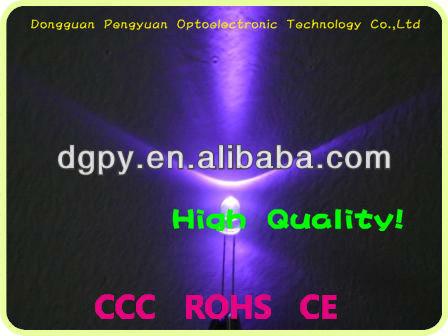 5mm UV Led lamps 365/375/385/395/405/415