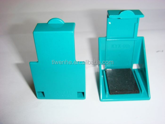 Plastic inkjet cartridge transport clip for HP99 HP100 HP102 HP110 HP134 HP135 HP337 HP338 HP339 HP343 HP344 cartridges