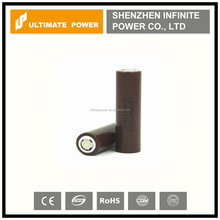 100% authentic LG Chem INR18650 HG2 3000mah 20a 3.6v li-ion rechargeable battery lg hg2 18650 high power battery cell