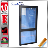 AS2047 Australia design thermal break large size waterproof double glass fixed and tilt&turn window in factory price