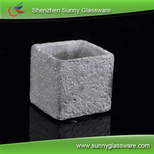new arrival concrete votive candle holder made by cement