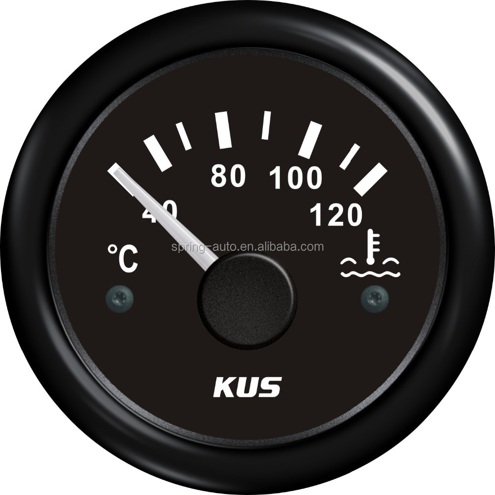 52mm water temp gauge CPTR-40-120 for car truck boat yacht