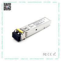 1.25Gb/s Duplex LC 1550nm SFP optical transceiver