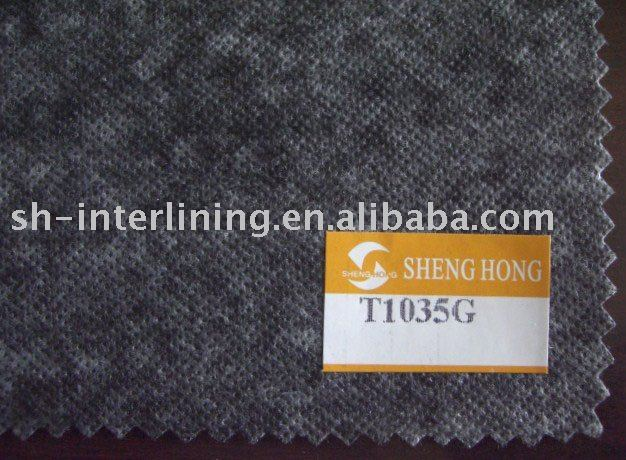 thermal bond nonwoven interlining