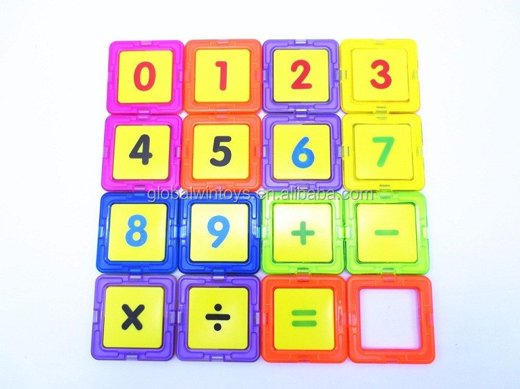2016 New Puzzle DIY Magnet blocks Building Toys GW-ZT664