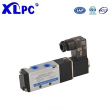Ningbo Solenoid Directional Control Valve Air Gas Single Coil Solenoid Valve 4V110 - 06