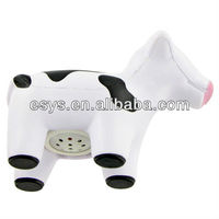sound chip-milk-cow-push button stress toy for toys