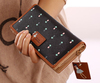 PU leather wallet,leather card holder,lady clutch bag