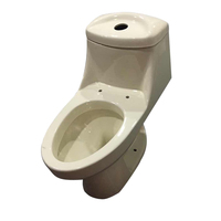 sanitary ware foreign trade ceramic public wc ivory one piece toilet