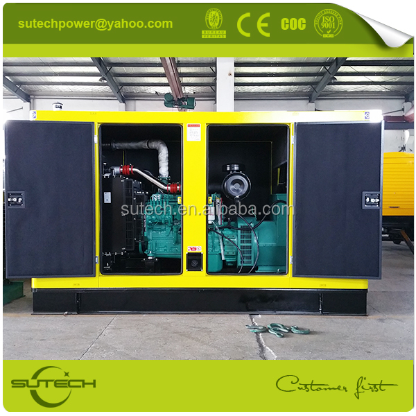 Fast delivery 100kw silent generator with cummins parts